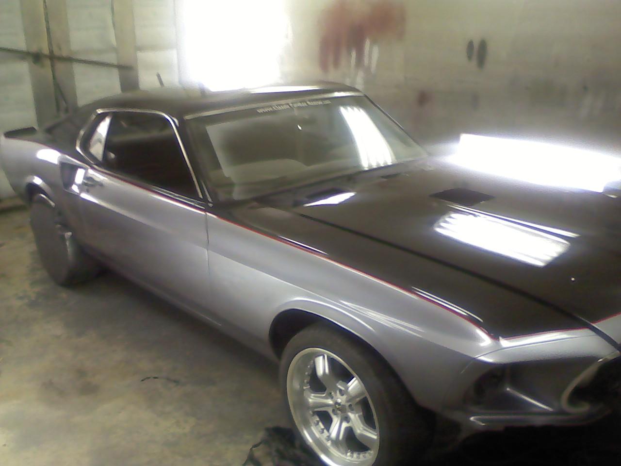 Mustang Black Paint